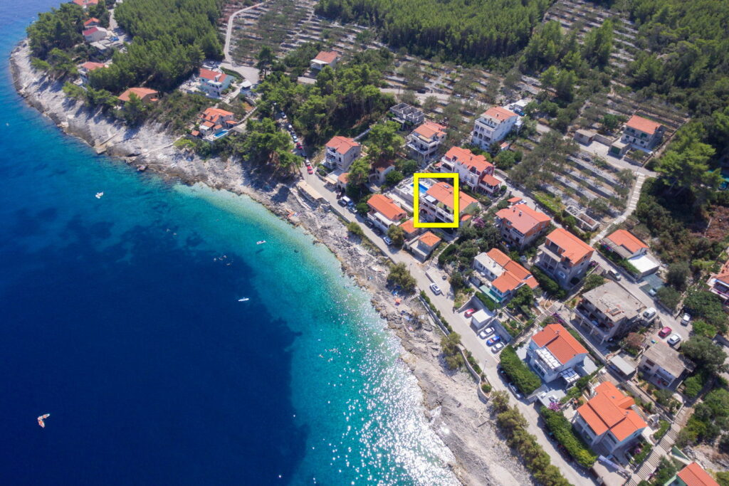 korcula prigradica apartments summeronkorcula house from air 09 square 1024x683