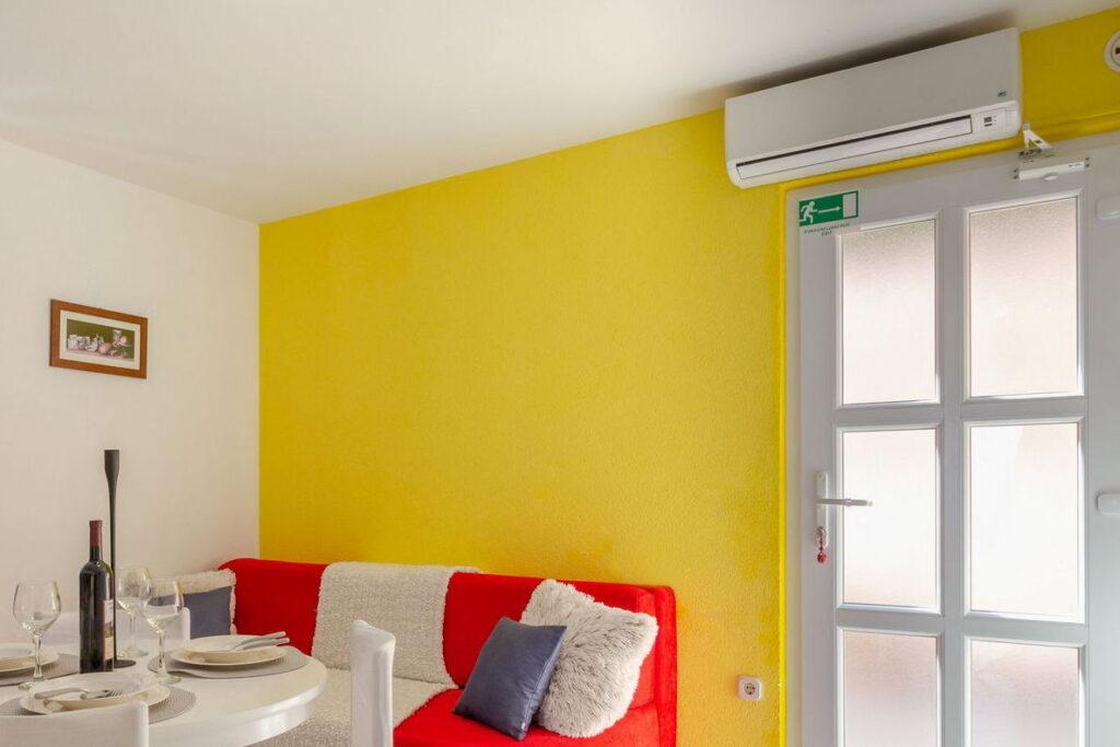 Klima u svakom apartmanu